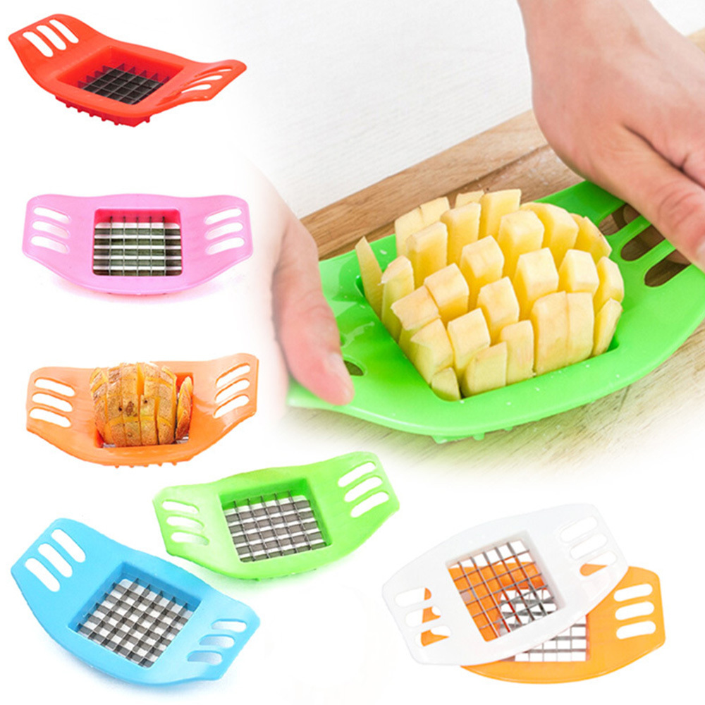Potatoes Cutter Cut In Strips French Fries Multi-function Slicing Potato Chopper Maker Machine Kitchen Gadgets Tool Accessories