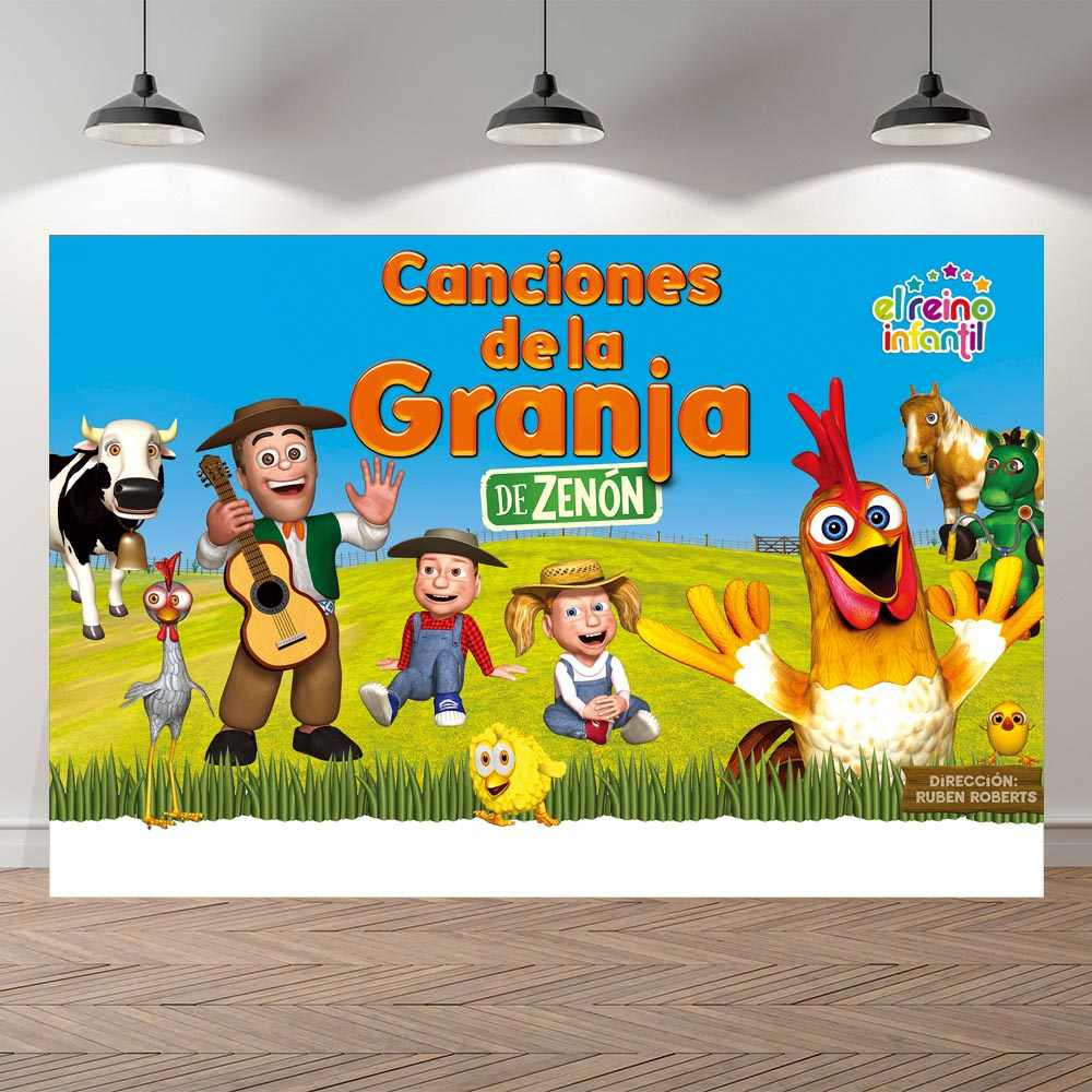 Personalized Farm Theme Photography Backdrop Red Barn Barnyard Tractor Balloons Animals Fence Garden Custom Photo Backgrounds Background Aliexpress