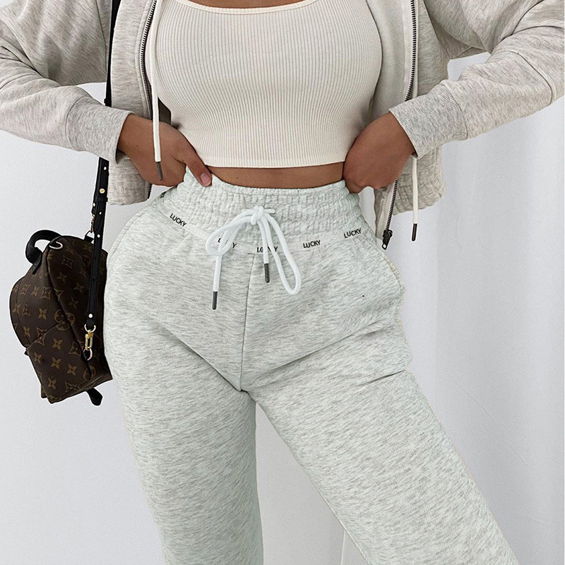 Женские спортивные брюки для бега в стиле хип-хоп, спортивные брюки, осень 2020