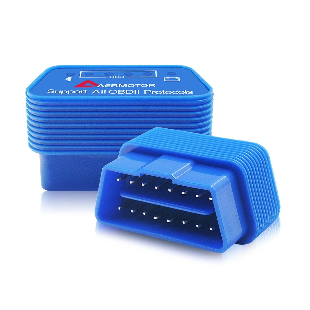 Hf4249685cb1e4f9ea69883dc2ff62bdcE 2019 OBD2 ELM327 1.5 HH OBD Diagnostic Scanner ELM 327 V1.5 WiFi/Bluetooth OBDII Auto Code Reader Support OBD2 OBD 2 Protocols