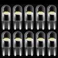 10 шт. 2020 Новинка T10 W5W WY5W 168 501 2825 COB Светодиодные Автомобильные клиновидные парковочные огни боковая дверная лампа инструмент лампа авто номе...