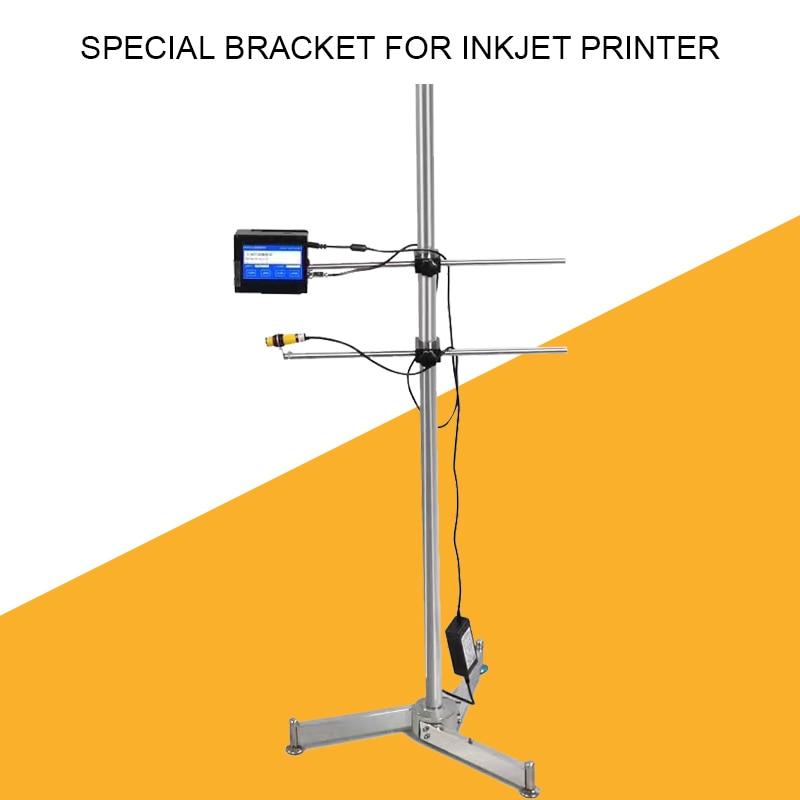 Impressora a Jato de Tinta Fixo em Linha Prateleira de Impressão Handheld Inteligente Suporte Especial Automática