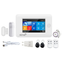 Burglar-Alarm-System PG106 Remote-Control-Alarm Home-Security WIFI GSM for Android IOS