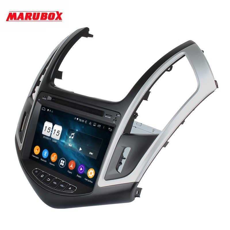 Marubox KD8087 64 ギガバイト車の DVD プレーヤーのためにシボレークルーズ 2012-2015 、 dsp 、 GPS ナビゲーション、ブルートゥース、アンドロイド 9