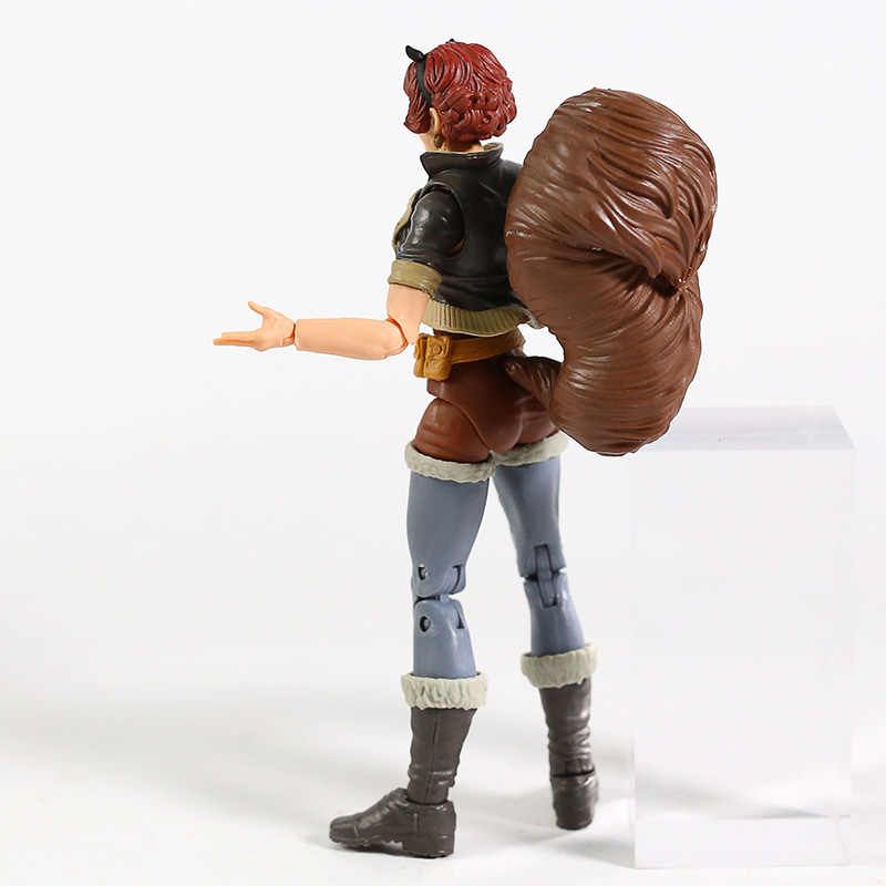 Légendes jouet écureuil fille Doreen vert PVC figurine Super héros modèle Brinquedo