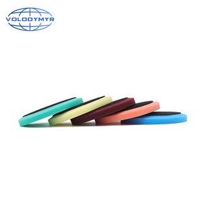 Image 4 - Carro polonês almofada almofadas de disco de polimento com 5 polegada gancho e loop para polir máquina de polimento detalhando espuma esponja auto accessorie