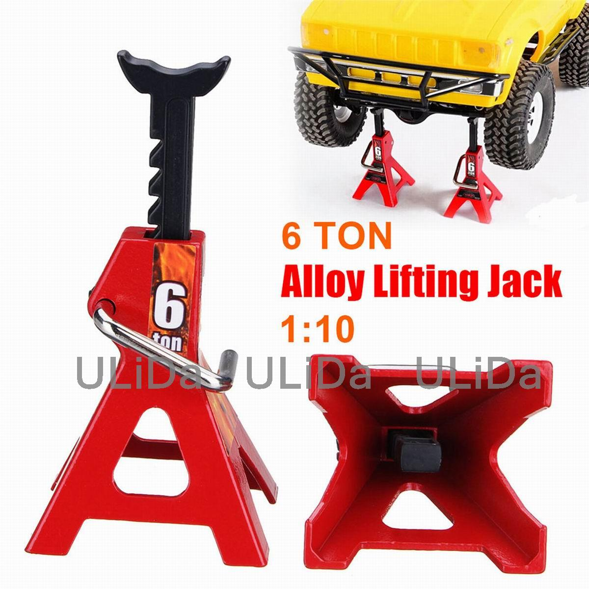 1PC Metal 6 Ton / 3ton Jack Stand Repairing Tool For RC Axial SCX10 Tamiya CC01 D90 D110 TF2