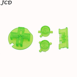 Image 2 - JCD 10sets/lot Plastic Power ON OFF Buttons Keypads for Gameboy Color GBC Colorful Buttons for GBC D Pads A B Buttons