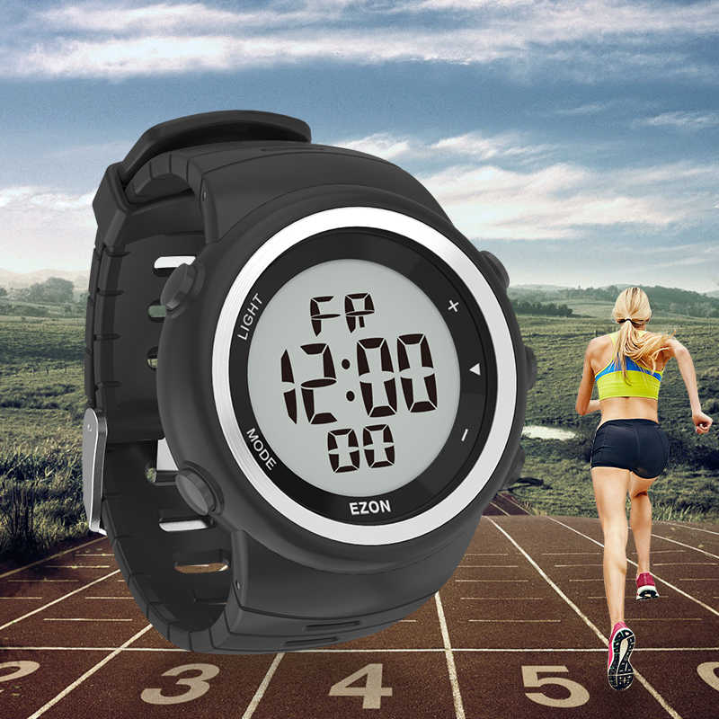 Digital  Sport Watch for Men's Outdoor Running With Pedometer And Multifunction Alarm Clock Stopwatch Waterproof 50M