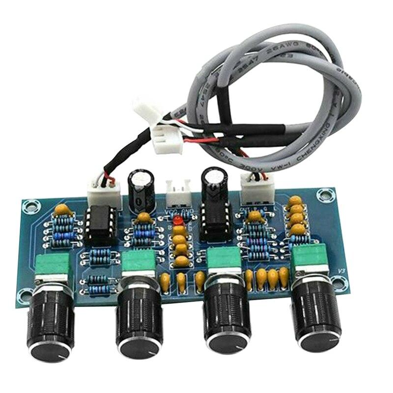 XH-A901 NE5532 Tone плата предусилителя предварительного усилителя с тройной басовой доской предварительного усилителя