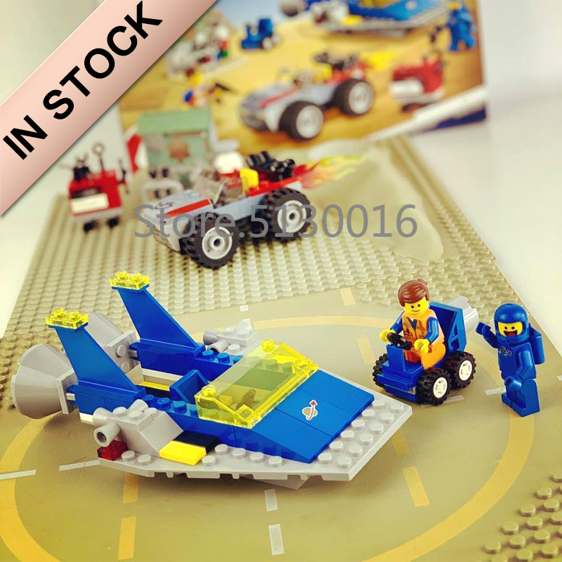In Stock 45001 Movies 2 Series Emmet And Benny's Build And Fix Workshop 174Pcs Building Blocks Compatible 70821 Toys Gifts