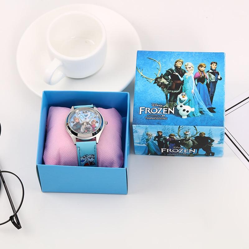 Frozen 2 Silicone Watch Child Quartz Wrist Disney Movies Figure Random Color Random 1pcs Fashion Cartoon Girl's Watch Gift Toy