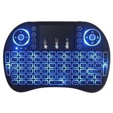 I8 мобильный сотовый телефон Mi ni беспроводной различные цвета задний светильник Bluetooth сенсорная клавиатура для настольного ноутбука планшета OTG