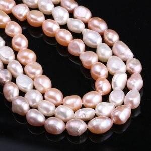 Высокое качество 100% натуральный пресноводный культивированный жемчуг бусины для изготовления ювелирных изделий DIY ожерелье браслет прядь ...