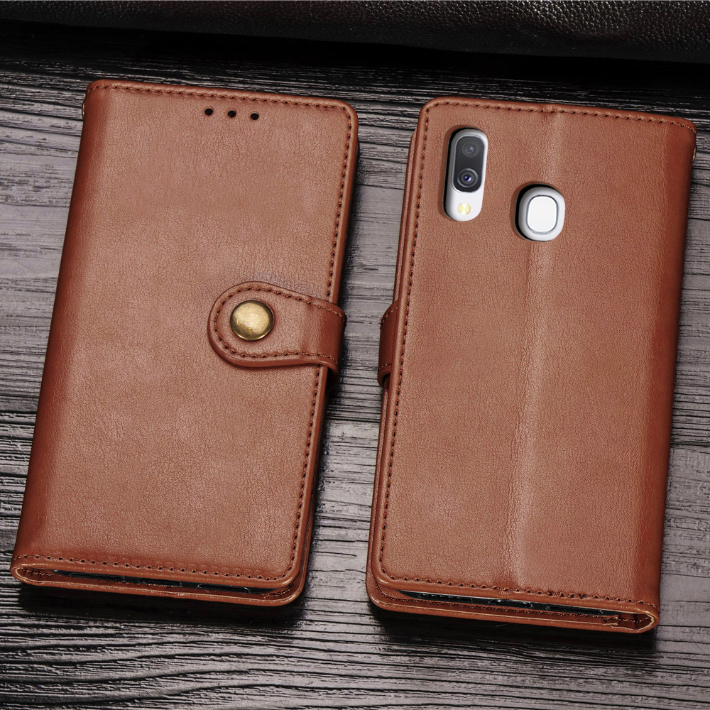 Magnetic Case For <font><b>Samsung</b></font> Galaxy A40 <font><b>A</b></font> <font><b>40</b></font> Flip Case Cover Leather Wallet Card Holder Book Case For <font><b>Samsung</b></font> Galaxy A40 <font><b>hoesje</b></font> image