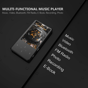 Image 5 - Bluetooth MP3 Player Video Ultra thin Touch Screen MP3 Can Watch Nove Movies  English MP3 Player Music Walkman MP3 Fm Radio