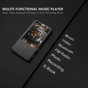 Image 5 - Bluetooth MP3 oyuncu Video Ultra ince dokunmatik ekran MP3 izleyebilirsiniz nova filmler İngilizce MP3 çalar müzik Walkman MP3 fm radyo