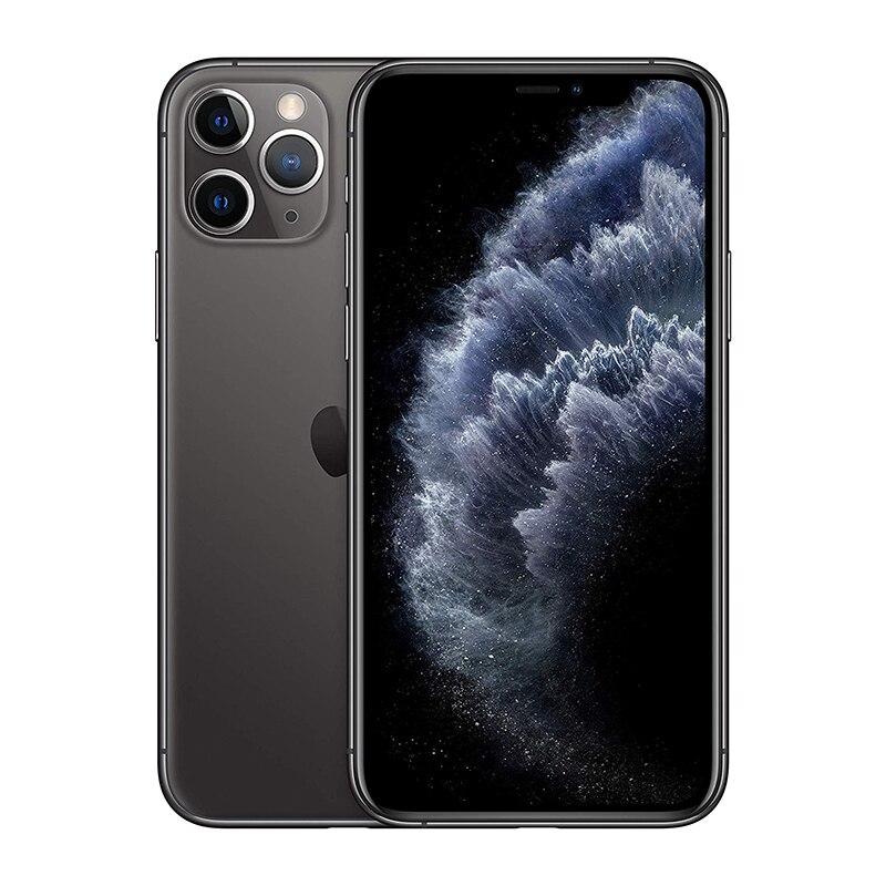 """IPhone 11 Pro   4G Smartphone celulaire 5.8 """"Retina XDR OLED Triple-système de caméra"""