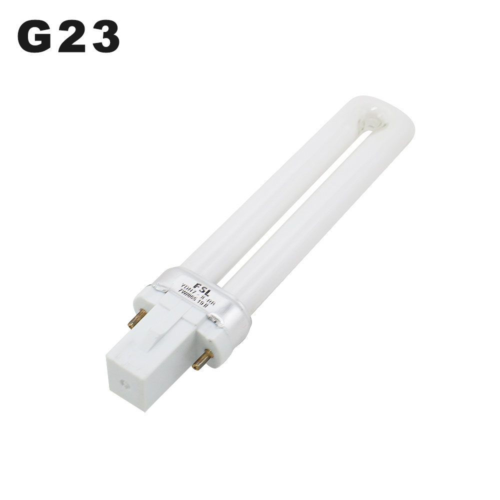 G23 Fluorescent Lamp Tubes 7W Desk Light Bulbs 6500K Single-capped Fluorescent Light Tube Eye Protect Long Life Fluorescent Tube