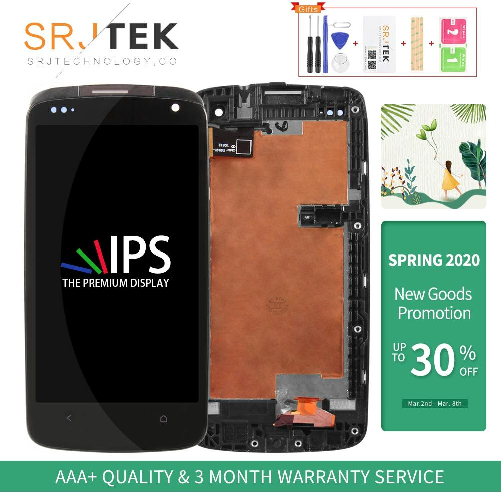 Srjtek bildschirm Für <font><b>HTC</b></font> <font><b>Desire</b></font> <font><b>500</b></font> LCD Digitizer Touchscreen Glas Panel LCD Display Montage Ersatz Für <font><b>HTC</b></font> D500 Display image