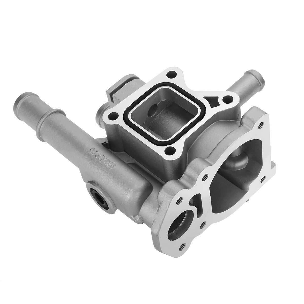 Alüminyum termostat konut kapak için Chevrolet Chevy Cruze Aveo Orlando Opel Astra Zafira Signum 96984103 96984104 96817255