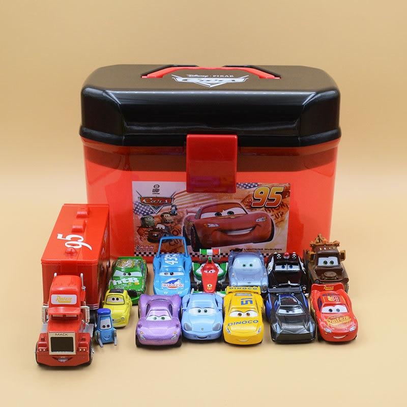 Disney Pixar Car 3 Lightning McQueen Racing Family Family 39 Jackson Storm Ramirez 1:55 Die Cast Metal Alloy Car Christmas Gifts