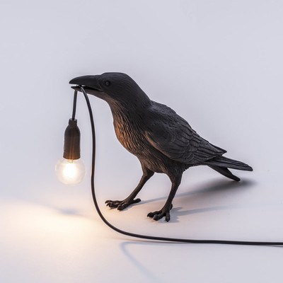 Modern Wall Lamps Resin Bird Lamp Led Sconces Wall+lamps for Bedroom Living Room Light Loft Luminaire Indoor Lighting Fixtures