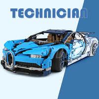 Blocs de construction briques lEGOED Bugatti chiron Compatible 20086 IegoSet Technic Voiture 42083 jouet éducatif cadeau pour les enfants