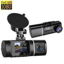 Front Dash Camera Car DVR 2 Cam Video Recorder Dual Lens Full HD 1080P 170 Degree Dashcam Night Vision Parking Monitor Black Box