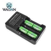 Wadsn Тактический 4 Слот литий ионный аккумулятор Батарея Зарядное