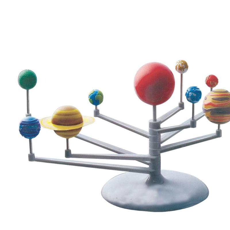 Solar System Nine Planets Planetarium Model DIY Kid Gift Worldwide Early Education Kit Astronomy Science Project For Child