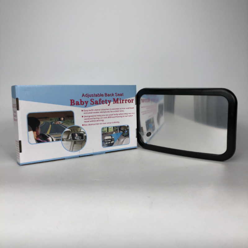 Baby Safety Mirror Adjustable Back Seat  Car Endoscope Rearview Mirror ABS Material Not easy Broke Auto Accessories