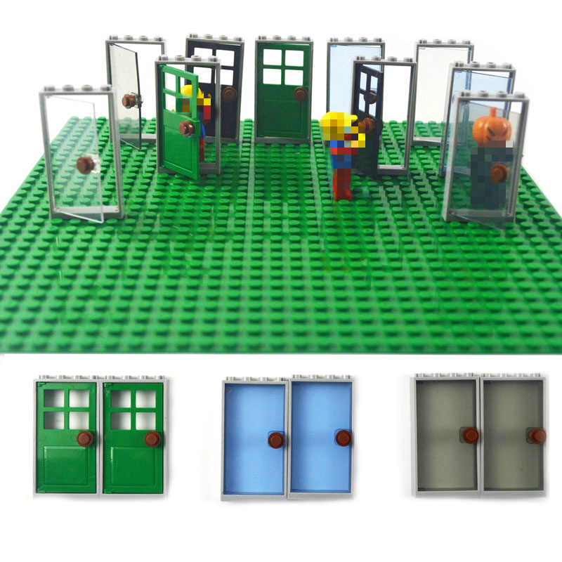 DIY Bricks Doors Tables Chairs Flowers Bulk Educational Creator Building Block Compatible Legoinglys Toy And No Minifigures