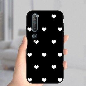 Image 5 - Miłość kwiat skrzynka dla Xiaomi Redmi uwaga 10 9 8 7 8T 9T Pro 9S K40 MI uwaga 11 10 9 10T 10S Pro Lite Poco M3 X3 F3 miękka TPU Fundas