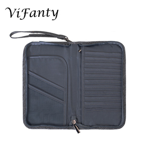 Image 3 - Travel Wallet Ticket Document Organizer Bag, Family Passport Holder