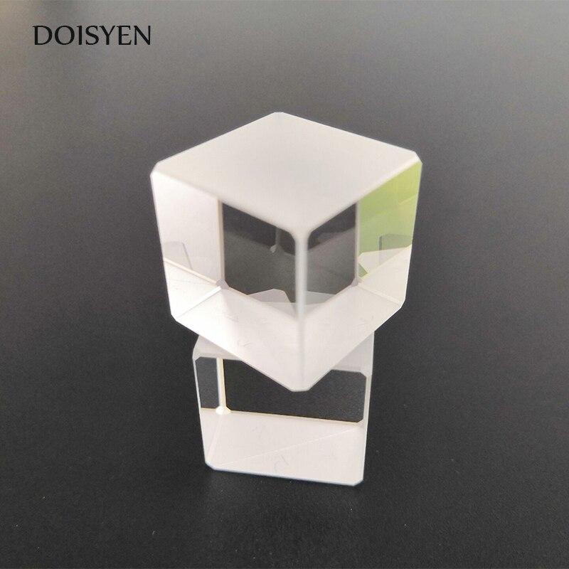 Nível do laser Cubo Prisma para Feixe 20*20*20mm Lense Prisma de Vidro Reflexão Prisma Cubo de Combinar para foto