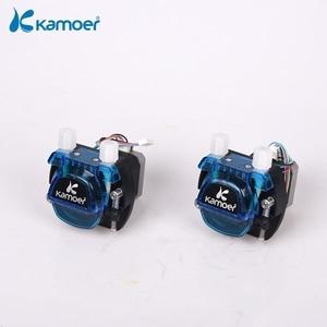 Image 5 - Kamoer KCM 12V/24V  Peristaltic  Water Pump With Stepper Motor and BPT/Silicon Tube Support Self Priming