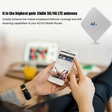 4G LTE هوائي SMA هوائي 35dBi هوائي عالي الكسب مع شفط كأس مزدوج Mimo SMA ذكر موصل 3G/GSM مُعزز إشارة WiFi ل