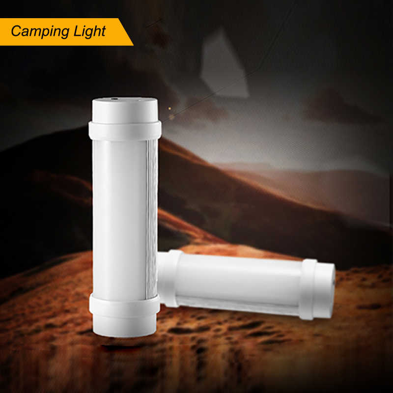 3W Camping Lantern LED USB Rechargeable Camp Lamp Light Emergency Tent J7H7 W2K7