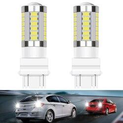 2x LED 3157 3156 Canbus car Bulb For Honda Civic 2006-2011 Accord 2003 2007 CR-Z Element 1156 BA15S 7443 W21W T20 Reverse Lights
