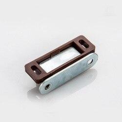 10 szt. Zatrzaski do szafek z tworzywa ABS + żelazne drzwi do szafki magnetyczne ssanie szafka magnetyczny ogranicznik do drzwi