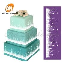 Новинка, трафарет для торта с кружевом в стиле трафарет «сделай сам», инструменты для украшения тортов, тканевые трафареты для тортов, форма...