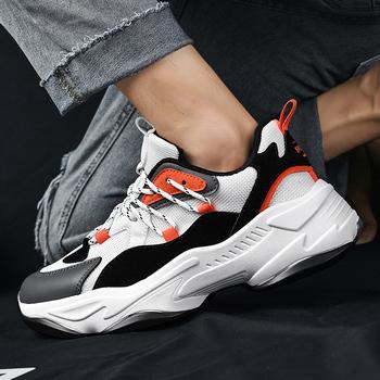 Wysokie buty koszykarskie męskie gumowe oddychające sznurowane antypoślizgowe sportowe odkryte twarde buty trenerzy buty trampki męskie tanie i dobre opinie aybycy CN (pochodzenie) Buty do koszykówki Średnie (b m) Wysokiej RUBBER Cotton Fabric Skręcanie Lace-up Spring2019