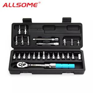 ALLSOME Adjustable Torque Wrench Spanner Repair-Tools-Kit-Set-Tool Bicycle Bike-Repair