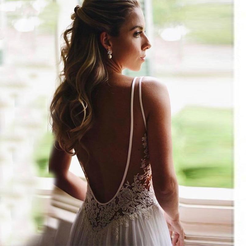 Bohemian-Wedding-Dress-2019-Sleeveless-V-Neck-Lace-Open-Back-Unique-Romantic-Backless-Boho-Beach-Bridal (1)