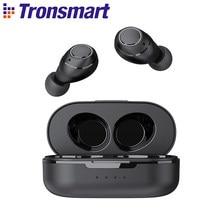 Tronsmart Onyx Free TWS bezprzewodowe słuchawki douszne słuchawki UV Bluetooth QualcommChip z aptX, IPX7 wodoodporne