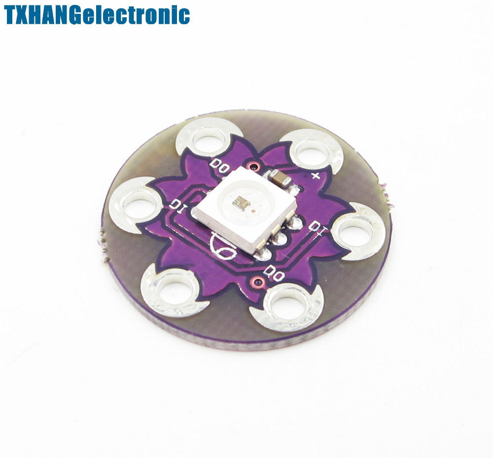 New LilyPad Board WS2812 5050 Lamp Panel LED Module Diy Electronics