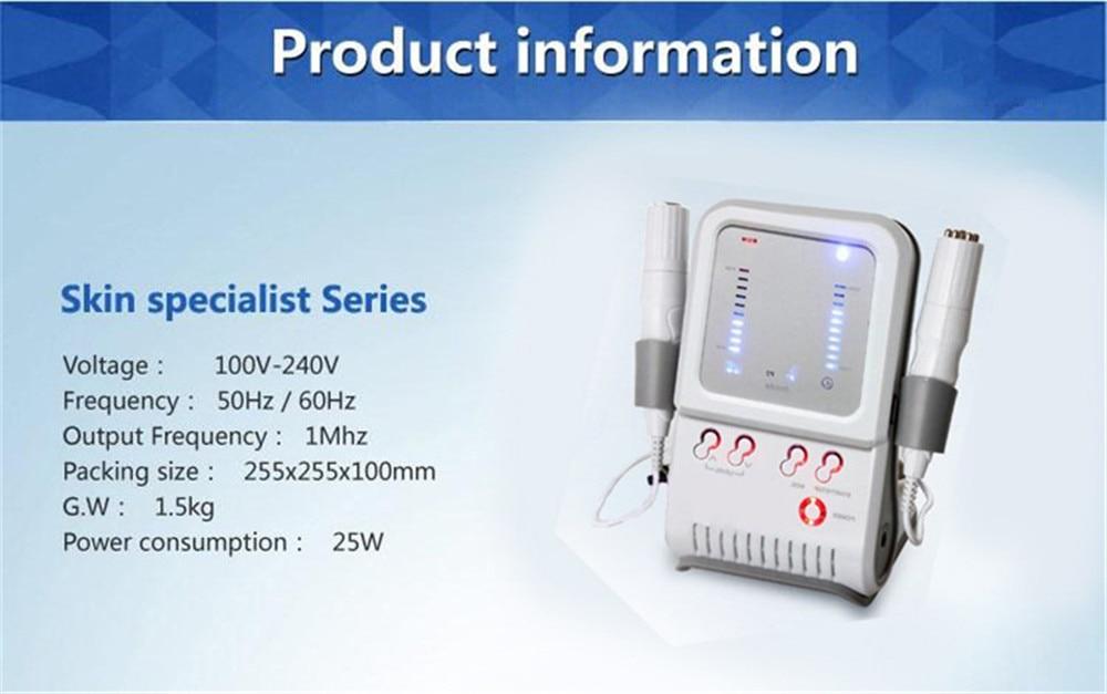 Massageador Facial RF Radio Frequency Máquina de