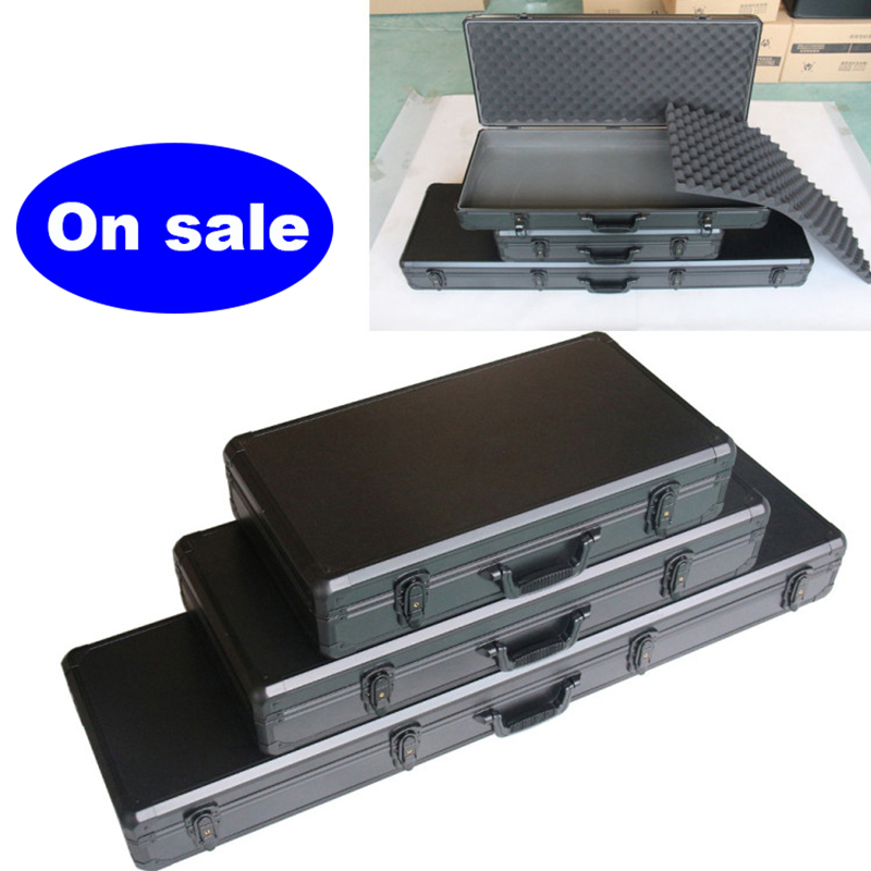Long Aluminum Alloy Toolbox Composite Bow Safety Box Multifunctional Suitcase Musical Instrument Box Fishpole Aerial Model Case