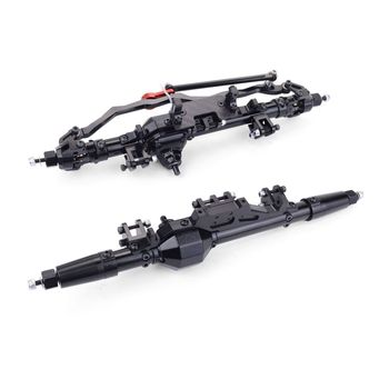 feichao 1/10 RC Cars Complete Aluminum alloy Front Rear Axle for RC Crawler Axial WRAITH Rock Racer 90018 90045 RR10 90048 90053